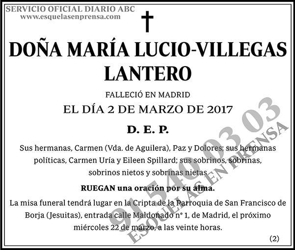 María Lucio-Villegas Lantero